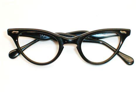 cat with glasses black womens vintage eyeglasses black cat eye glasses