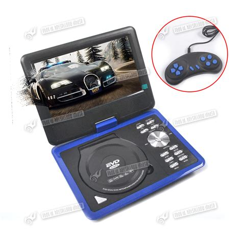Portable Dvd Player For Car With Usb by New 9 Portable Dvd Player Rechargeable Swivel Screen In