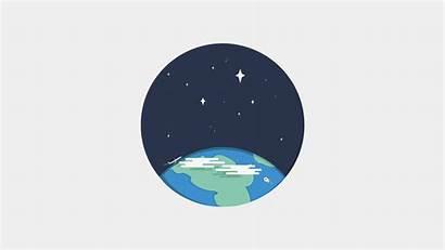 Icon Earth Minimalism Sky Icons Night Nature