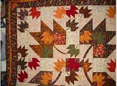 WIP Maple leaf quilt