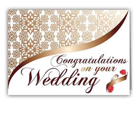 pin  cari   wedding wedding congratulations card