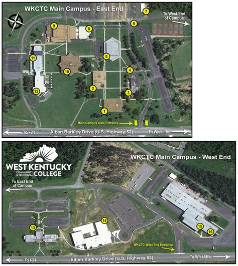 campus maps wkctc