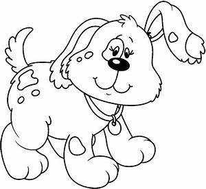puppy clipart black and white free - Jaxstorm.realverse.us