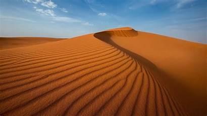 Sand Desert Dune Landscape Nature Dunes Clouds