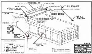 Pioneer Edd1500d Construction Tarping System  Steel Body  Side Mount  8 U0026 39  To 11