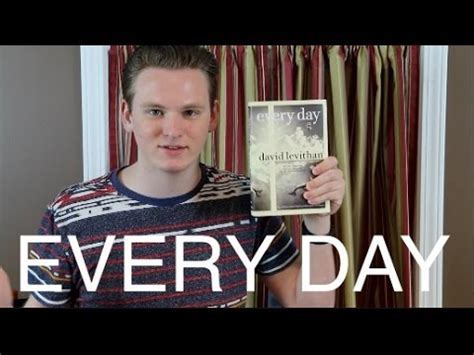 Every Day David Levithan Book Review Youtube