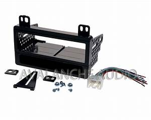 Ford Car Stereo Dash Kit With Wiring Harness Install Kit