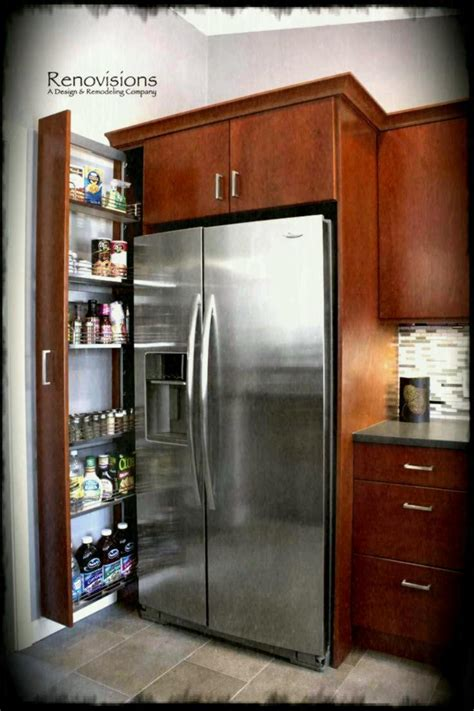 kitchen cabinet storage ideas kitchen remodel by renovisions pull out storage cabinet 5812