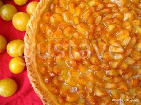 recette tarte mirabelle pate feuilletee tarte aux mirabelles fruits dor 233 s sur fond de p 226 te bris 233 e la recette gustave