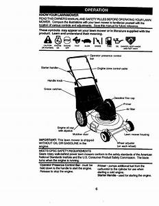 Craftsman 917388360 User Manual 6 25hp 21 Rotary Lawn