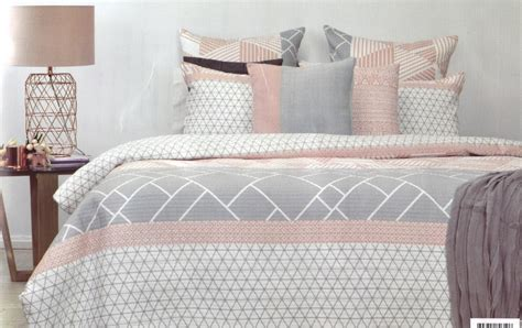 quilted duvet cover monte blush grey white geo quilted king quilt