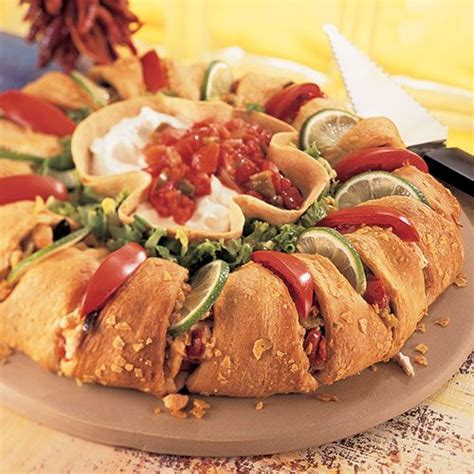chicken enchilada ring recipes pampered chef  site