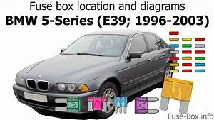 Fuse Box Location And Diagrams  Bmw 5
