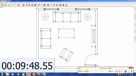 create a sketchup floor plan in 10 mins youtube