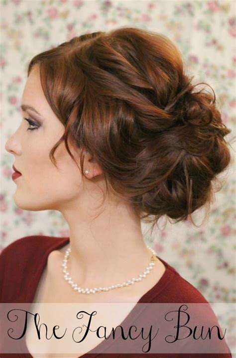 super easy knotted bun updo  simple bun hairstyle tutorials