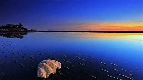 蓝色系清新唯美风景壁纸_大自然好看美景_风景壁纸_