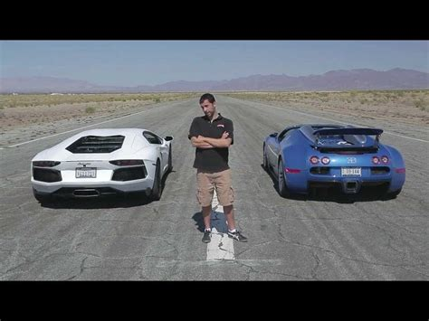 Lamborghini Aventador Vs Bugatti Veyron Drag Race