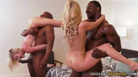 Aaliyah Love And Natalia Queen Interracial Foursome Sex