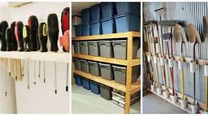 Idée Rangement Garage : 14 super id es de rangement pour le garage ~ Melissatoandfro.com Idées de Décoration