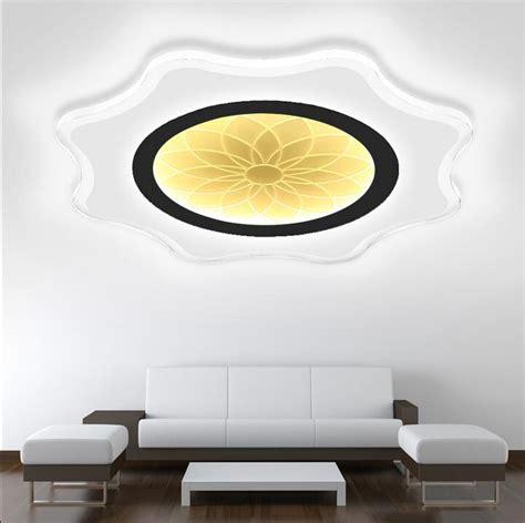 modern ultra thin led ceiling lights creative arc