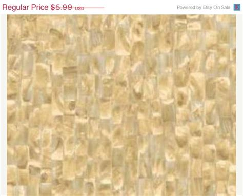 taupe of pearl tile wallpaper shell by