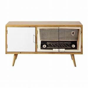 Meuble TV Vintage Fifty39s Maisons Du Monde
