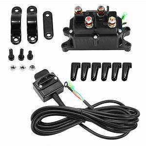 12v Atv Utv Solenoid Relay Contactor   Winch Rocker Thumb Switch Wiring Combo Wi 6006372544740
