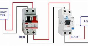 Inverter Connection With Rccb