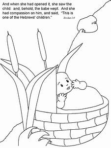 Baby Moses   Coloring - Part 3