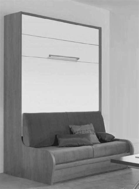 canapé lit mural armoire lit mural avec canape cus jacquelin agencement