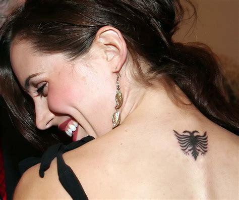 eliza dushku eagle tattoo famous people of albanian origin