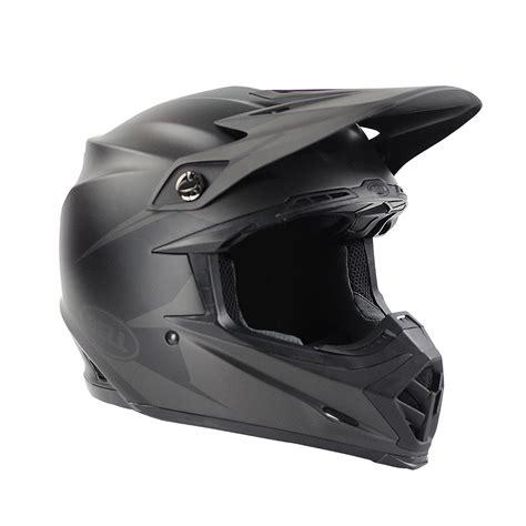 flat black motocross helmet bell helmets new 2017 mx moto 9 intake dirt bike matte