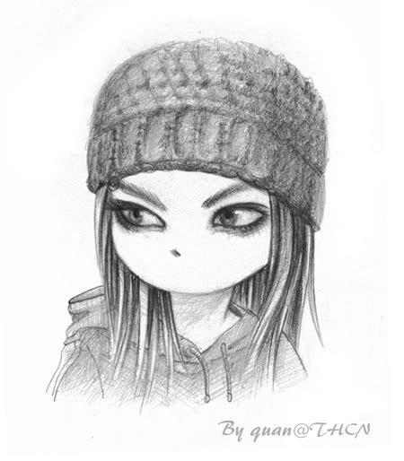 disegni a matita di ragazze tristi pin disegno arte ragazza pensare in bianco e nero