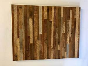 reclaimed barn wood wall art horizontal slats free With barnwood slats
