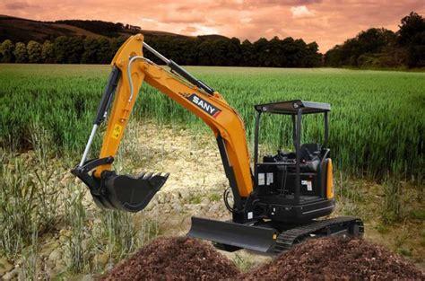 sany syu mini excavator  price  plant hole digger  micro excavator  sale buy