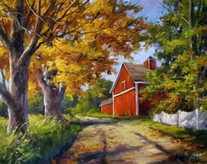 New England Fall Landscapes