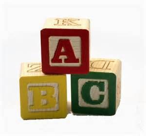 ABC 123 Blocks Clip Art