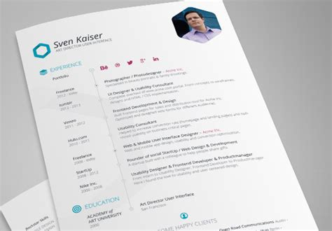 Programmer Resume Psd Template by 25 Web Developer Resume Templates Free Psd Word