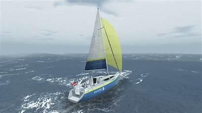 Sailing Sailaway Simulator V0 Wave Visual Updates