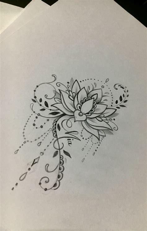 lotus mandala tattoo tatouage tattoos lotus mandala