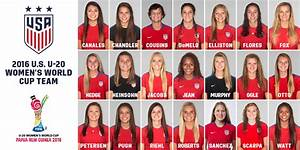 French Names USA Roster for 2016 FIFA U-20 Women's World ...