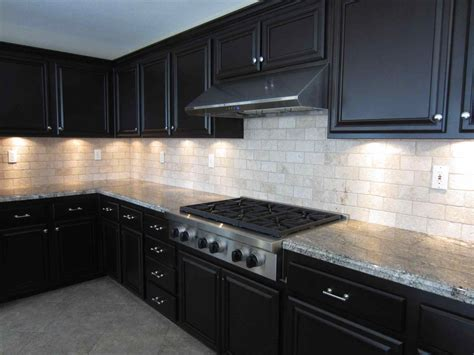 Best White Stone Kitchen Backsplash Espresso Cabinets