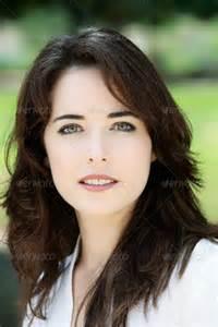Beautiful Green Eyes Brown Hair