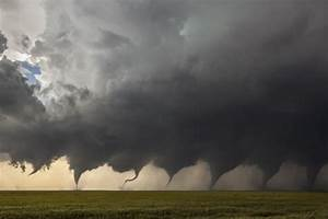 This Picture Shows The Birth Of A Tornado