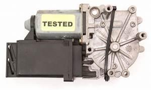 Lh Rear Window Motor 95-97 Vw Passat B4 - Genuine