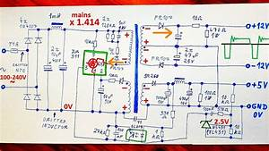 How Does A Switching Power Supply Work 1  Schematic  Explanation  Example  Modifications
