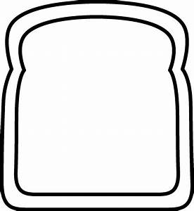 White Bread And Black Clipart - Clipart Suggest
