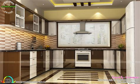 kitchen living bedroom dining interior decor kerala