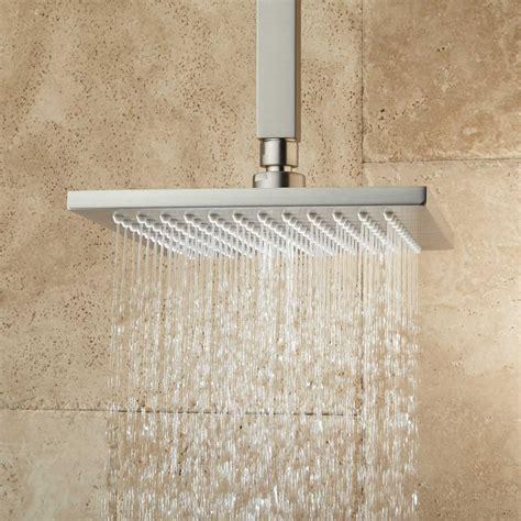 ceiling mount shower devereaux ceiling mount shower with square arm bathroom