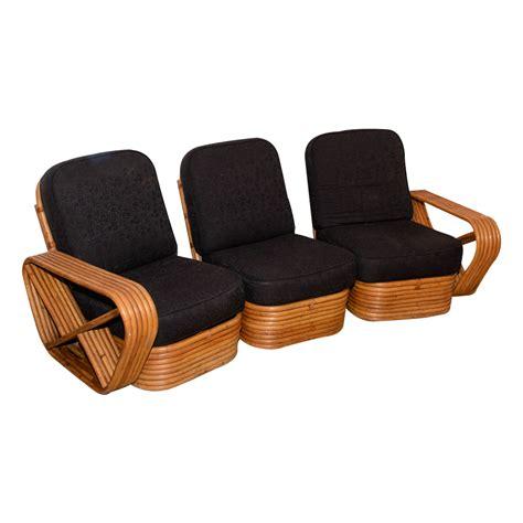 vintage rattan sectional sofa  antique row west palm
